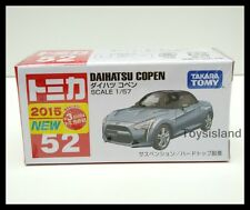 TOMICA #52 DAIHATSU COPEN 1/57 TOMY 2015 April NEW MODEL DIECAST CAR