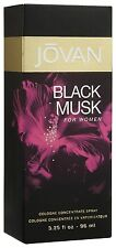 JOVAN BLACK MUSK 96ML EDC FRAGRANCE PERFUME SPRAY FOR WOMEN LADIES