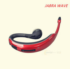 new Jabra WAVE BT3040 stereo voice wireless bluetooth Headset headphones red