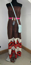 French Connection - BNWT - full length Strapless Maxi Dress - size M 10-12 UK