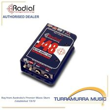 Radial Engineering J48 Phantom Powered Active Direct Box - Single Channel DI