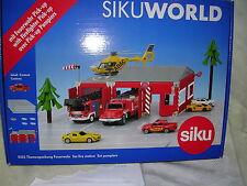 Siku 5502 SikuWorld Themenpackung Feuerwehr mit 1 Auto  NEU OVP