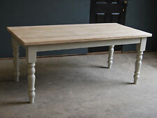 7FT DINING KITCHEN TABLE - RECLAIMED FARMHOUSE VINTAGE TABLE