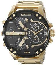 Diesel DZ7333 Men's Mr.Daddy 2.0 Gold Chronograph Stainless Steel Analog Watch