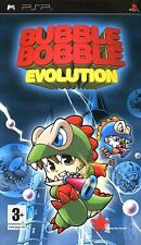 Bubble Bobble Evolution (PSP) - Game  boxed with book