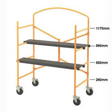 Handyman Mobile Scaffolding, Foldable, scafolding scaffold with safety bar