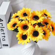 1pcs Artificial Fake Flower Bush Bouquet Home Wedding Decor Hot Sale
