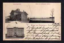 109343 AK Lauterbach Rügen um 1903 Bahnhof Bahnhofsgebäude Villa Seeschloss Grei