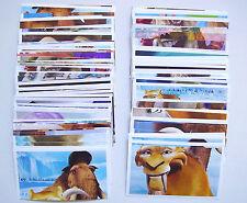 Lidl - Ice Age 5 - 10 Sticker / Sammelbilder aus 122 verschiedenen aussuchen