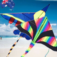 2 Kites Pack Blue Plane + Rainbow Delta Line Included OKITE2501+2402+OKLIN2100x2