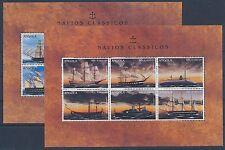 Angola 1070/81 postfrisch 2 Kleinbogen / Schiffe ...............................