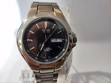 CASIO LINEAGE LIN-171J-8AJF TITANIUM ANALOG BLACK MENS WATCH