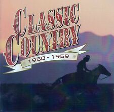 CLASSIC COUNTRY 1950-1959 / 2 CD-SET (TIME LIFE MUSIC TL 626/03) - TOP-ZUSTAND