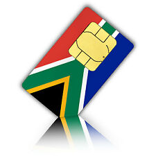 Standard SIM card for South Africa with 500 MB data fast mobile internet & 100 c