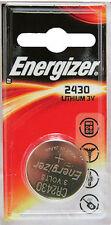 1 Energizer 2430 3V Lithium Battery CR2430 DL2430