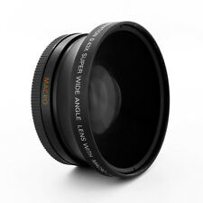 72mm Fisheye 0.43x Wide Angle + Macro attachment for CANON Camera Lenses