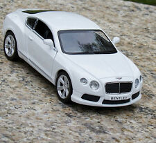 Bentley Continental Alloy Diecast 1:36 Car Model Collection&gifts Toy White New
