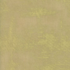 Luxe Brushstrokes Metallic Gold on Parchment Moda Quilting Cotton Fabric