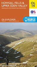 HOWGILL FELLS & UPPER EDEN VALLEY EXPLORER Map - OL19 - OS Ordnance Survey *NEW*