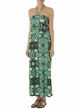 Dorothy Perkins Tropical Print Sleeveless Maxi Dress  22  Green/Multi