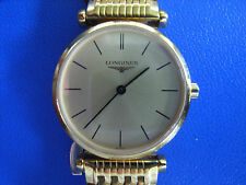 Longines La Grande Classique White Faced Ladies Yellow Gold Watch and Bracelet