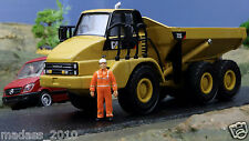 CATERPILLAR 725 MOXY - DIECAST REPLICA - NORSCOT 55073 - 1:50 SCALE - NEW IN BOX