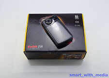 KODAK Zi8 POCKET CAMCORDER BOXED SD CARD HD 1080P DIGITAL HIGH DEFINITION