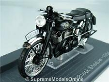 VINCENT HRD BLACK SHADOW 1954 MOTORBIKE 1/24TH MODEL IXO MUSEUM TYPE Y0675J^*^