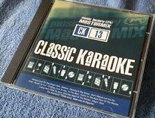 Karaoke cdg disc Mastermix Classics 13, Pop Hits, see description 15 tracks/arts