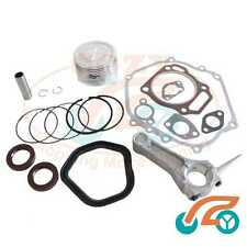 Piston & Rings Gasket Oil Seal Conrod Connecting Rod for Honda GX390 13HP Engine