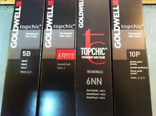 10 x GOLDWELL TOPCHIC HAIR COLOUR 60ML (BIG SALE)