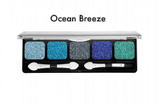 NYX Ocean Breeze Palette - New - Glittery Blues & Greens