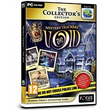 Mystery Trackers The Void Collectors Edition (PC)  BRAND NEW AND SEALED