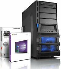 PC Quad Core Computer GAMER A8 7600 8GB 1TB Rechner Komplett Windows 10