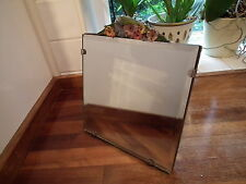 Barbola Square Dressing Table Mirror 8 Inch Square - Bevelled Glass Edge