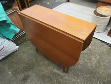 Retro Teak Drop Leaf Gate Leg Kitchen Dining Table May Deliver