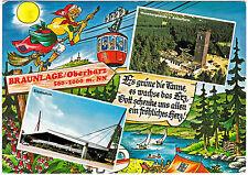 AK Braunlage gel. 1979 nach Rudolstadt DDR Thüringen Tanne Erz Herz Oberharz
