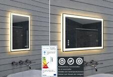 Badezimmerspiegel Bad Spiegel Warm-Kaltweiß wählbar Dimmer Touchschalter 40x60cm