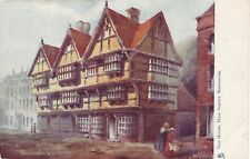 "Tuck's""Oilette""Old House.High Street,Rochester, by Artist Raphael Tuck. ."