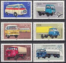 DDR 1982 Mi. Nr. 2744-2749 Postfrisch ** MNH