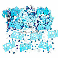 Baby Shower Confetti Blue Baby BOY Table Scatters Party Decorations Its A Boy