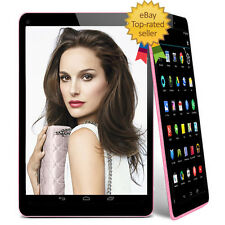 "9"" Inch Android 4.4 Tablet PC Quad Core Dual Camera Wi-Fi Bluetooth 8GB UK Stock"