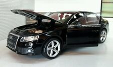 G LGB 1:24 Scale 2009 Audi A4 TFSI Detailed Welly Diecast Model Car 22512 Black