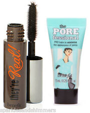 Benefit They're Real Mascara 3g & The Porefessional Foundation Primer 7.5ml DUO