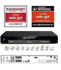 Octagon SF 1018 HD Alliance HDTV Twin Sat Receiver Linux LAN CI CA