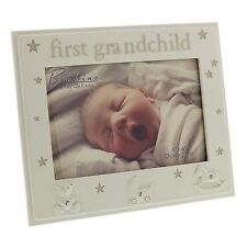 """Bambino Resin Photo Frame 6"""" x 4"""" First Grandchild  ideal gift  24401"""