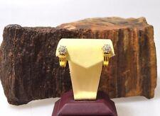 Gold Ohrstecker mit 14 Diamanten besetzt, ca.0.56ct, 585er Gold