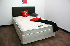 "4ft6""  Double Luxury Jupiter Deep ComFort Tufted Mattress FREE DELIVERY"
