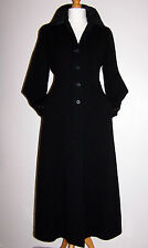 NWT LAURA ASHLEY VINTAGE WOOL & CASHMERE EDWARDIAN RIDING STYLE COAT 12UK