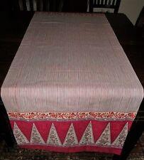 Bassetti Tischläufer Lampung V.2, ca 150x50 cm NEU 100% Baumwolle
